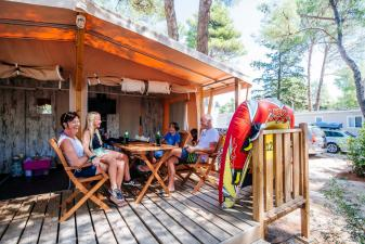 Glamping in Zaton Holiday Resort